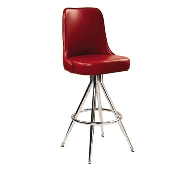 G & A Commercial Seating 446 bar stool, swivel, indoor
