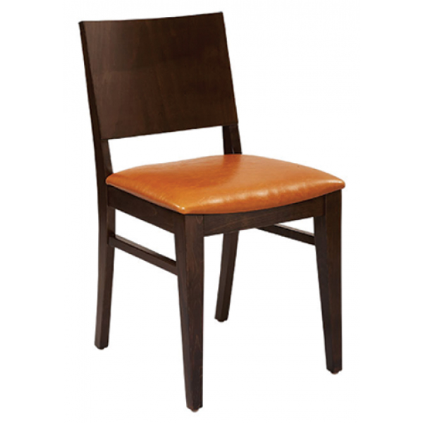 G & A Commercial Seating 4640FP1 chair, side, indoor