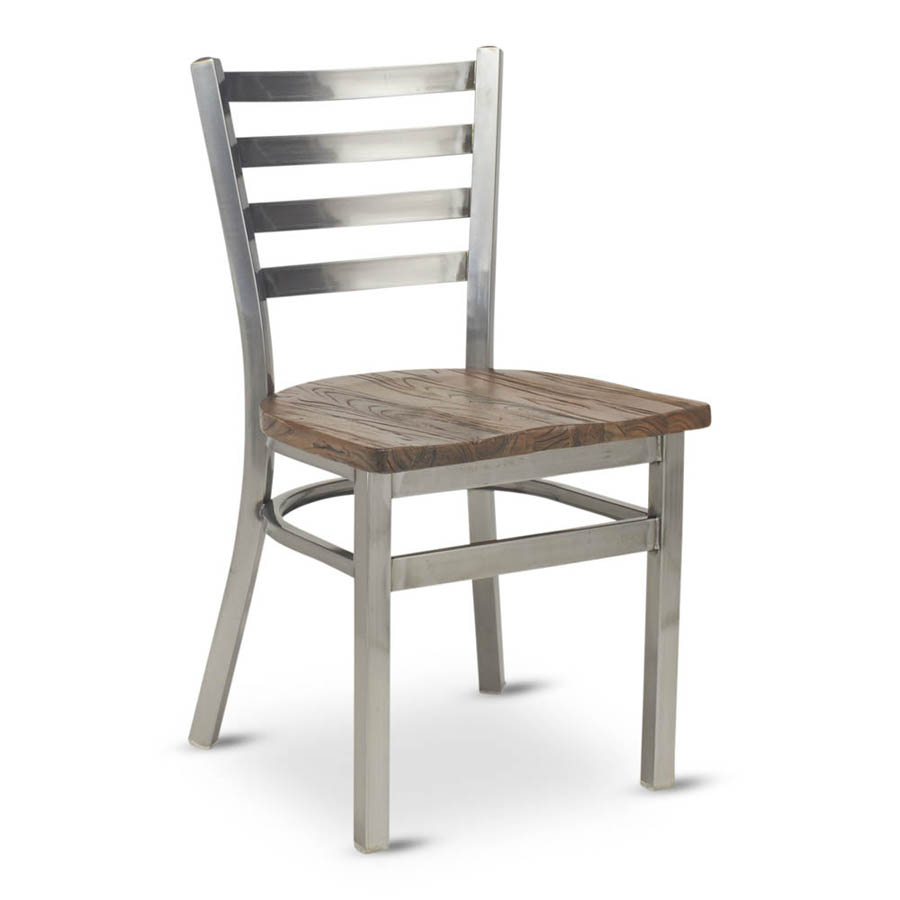 G & A Commercial Seating 513-B RS chair, side, indoor