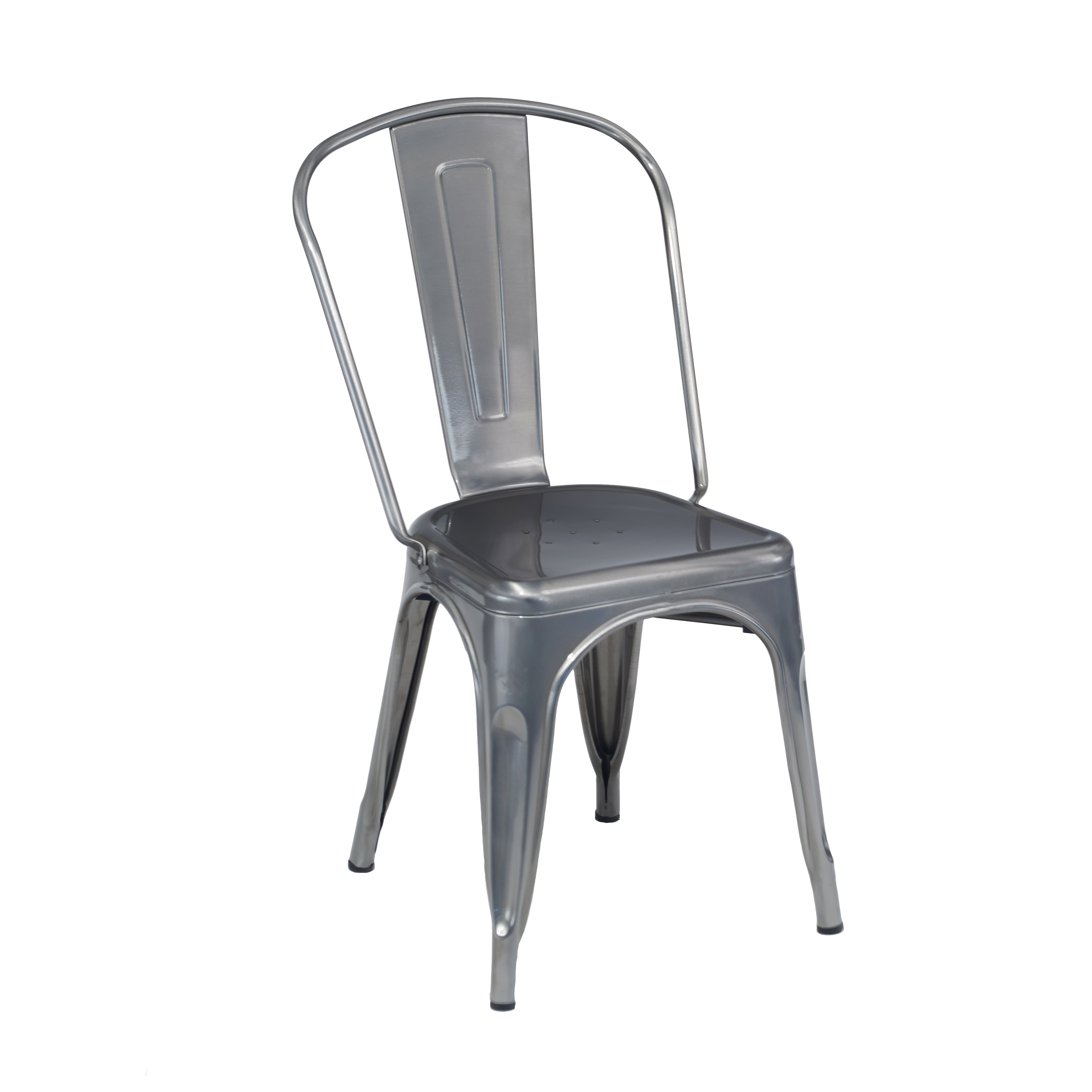 G & A Commercial Seating 530 chair, side, indoor