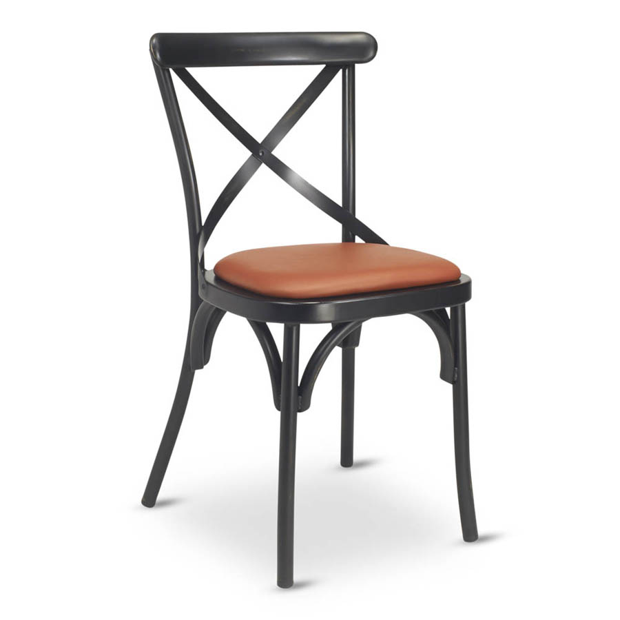 G & A Commercial Seating 588PS chair, side, indoor