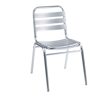 G & A Commercial Seating 626 chair, side, stacking, outdoor