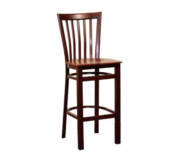 G & A Commercial Seating 635-M SS bar stool, indoor