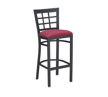 G & A Commercial Seating 650-B SS bar stool, indoor