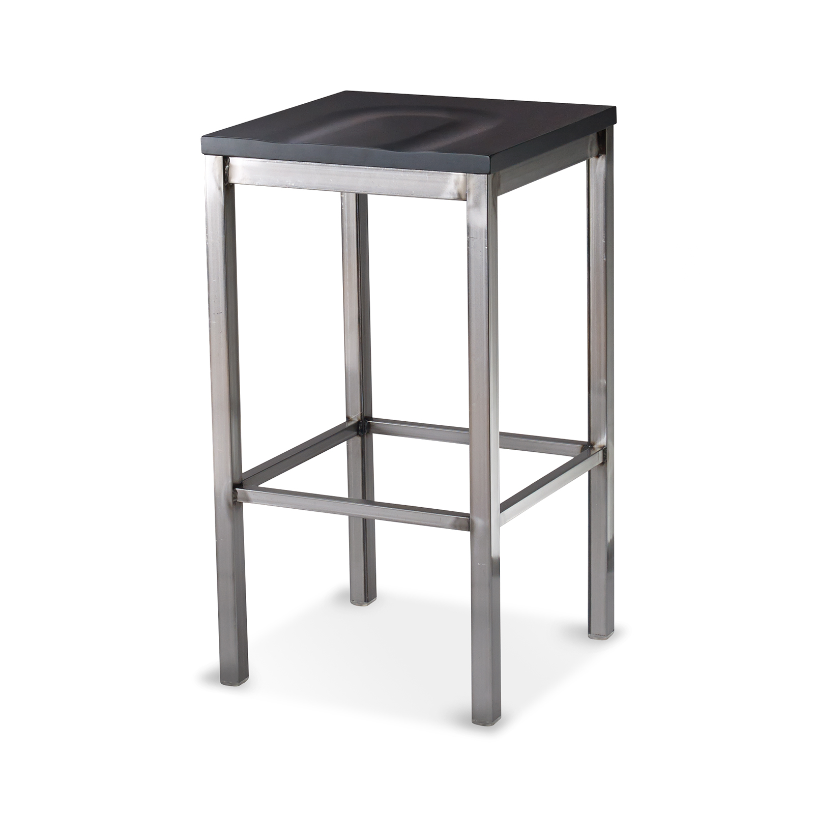 G & A Commercial Seating 713-D SS bar stool, indoor