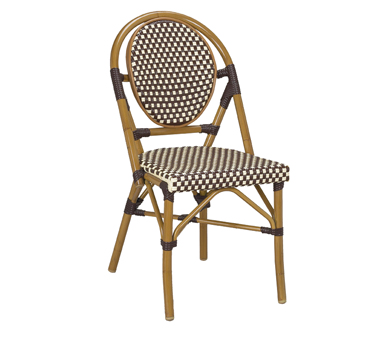 G & A Commercial Seating 808 chair, side, stacking, outdoor
