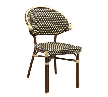 G & A Commercial Seating 815 chair, side, stacking, outdoor