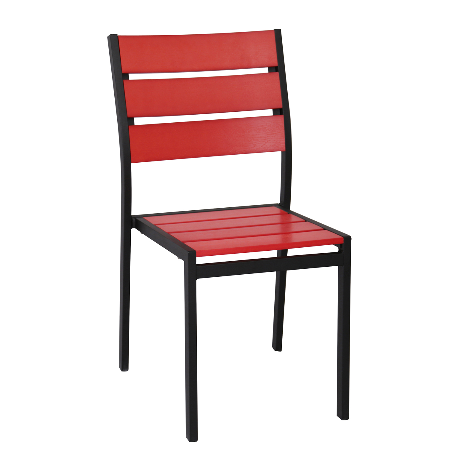 G & A Commercial Seating 8216 chair, side, stacking, outdoor
