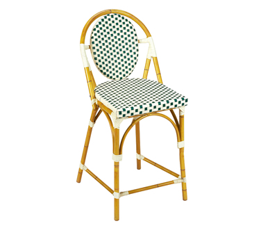 G & A Commercial Seating 908 bar stool, stacking, outdoor