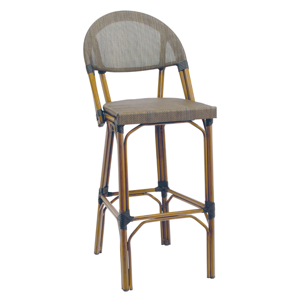 G & A Commercial Seating 920 bar stool, outdoor