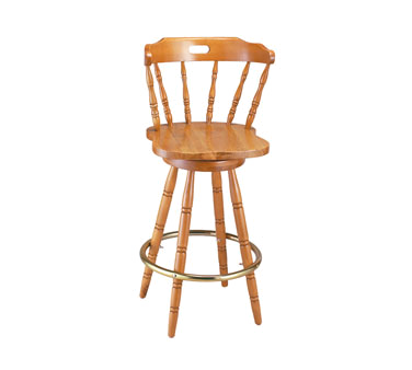 9850SS G & A Commercial Seating bar stool, swivel, indoor