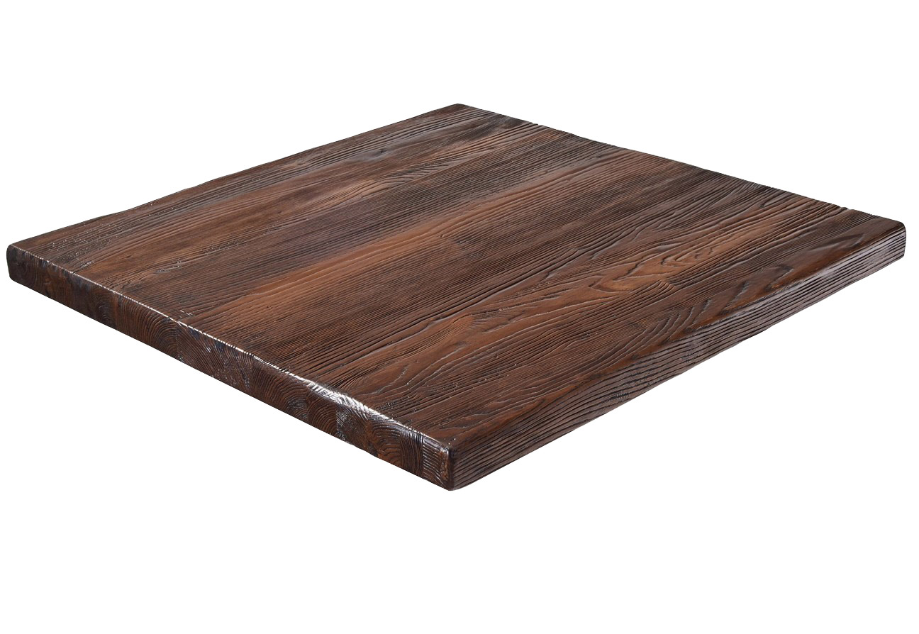 G & A Commercial Seating RA3030 table top, wood