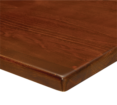 G & A Commercial Seating SW3030 table top, wood