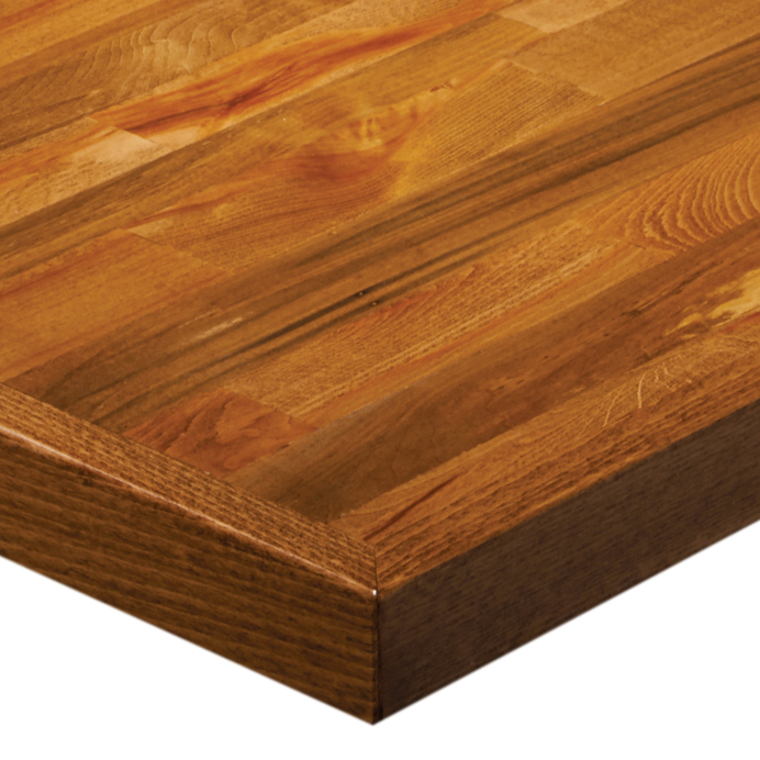 G & A Commercial Seating ZT48 table top, wood
