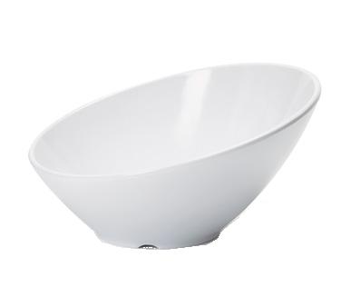 G.E.T. Enterprises B-785-W soup salad pasta cereal bowl, plastic