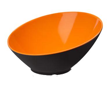 G.E.T. Enterprises B-789-OR/BK bowl, plastic,  1 - 2 qt (32 - 95 oz)