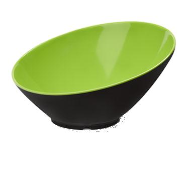 G.E.T. Enterprises B-792-G/BK soup salad pasta cereal bowl, plastic
