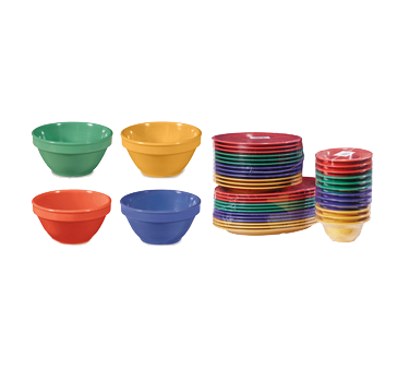 G.E.T. Enterprises BC-170-MIX bouillon cups, plastic