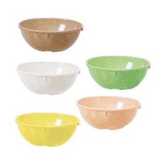 G.E.T. Enterprises DN-314-G nappie oatmeal bowl, plastic