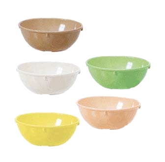 G.E.T. Enterprises DN-314-S nappie oatmeal bowl, plastic