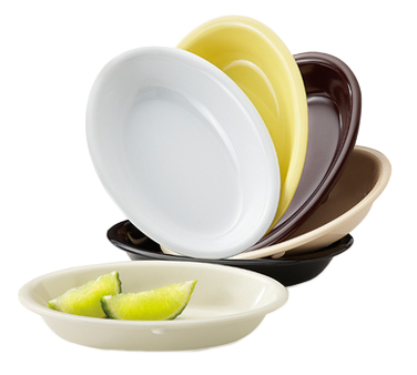 G.E.T. Enterprises DN-365-BR relish dish, plastic