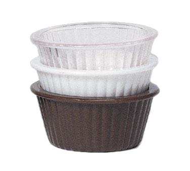 G.E.T. Enterprises ER-001-CL ramekin / sauce cup, plastic