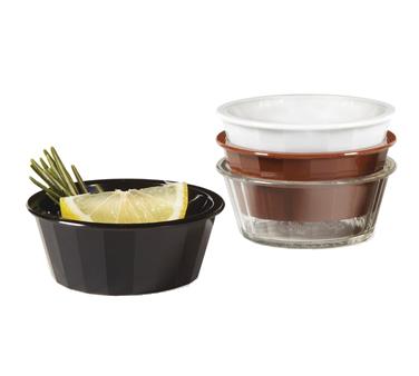 G.E.T. Enterprises ER-020-W ramekin / sauce cup, plastic