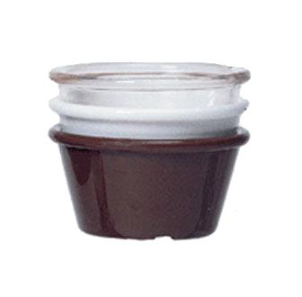 G.E.T. Enterprises ER-025-CL ramekin / sauce cup, plastic