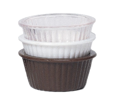 G.E.T. Enterprises ER-404-CL ramekin / sauce cup, plastic