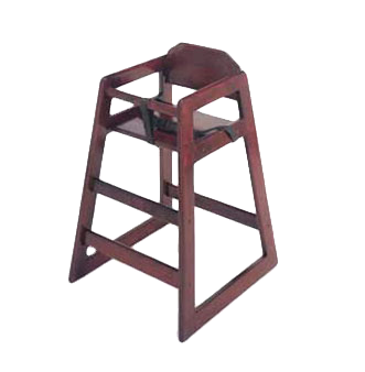 G.E.T. Enterprises HC-100-M-2 high chair, wood