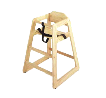 G.E.T. Enterprises HC-100-N-KD-1 high chair, wood