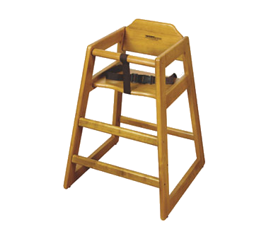 G.E.T. Enterprises HC-100-W-KD-1 high chair, wood