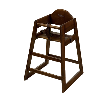 G.E.T. Enterprises HC-101C-KD high chair, wood