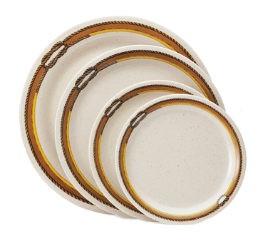 G.E.T. Enterprises NP-9-RD plate, plastic