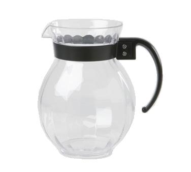 G.E.T. Enterprises P-4091-PC-BK pitcher, plastic