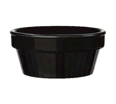 G.E.T. Enterprises R-3-BK ramekin / sauce cup, plastic
