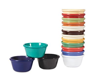 G.E.T. Enterprises RM-400-BK ramekin / sauce cup, plastic