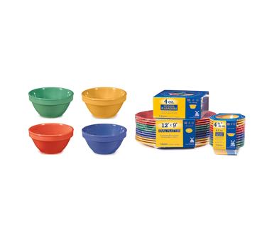 G.E.T. Enterprises SP-BC-170-MIX bouillon cups, plastic