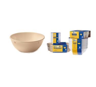 G.E.T. Enterprises SP-DN-310-T nappie oatmeal bowl, plastic