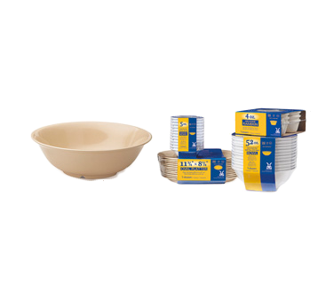 G.E.T. Enterprises SP-M-812-T bowl, plastic,  1 - 2 qt (32 - 95 oz)