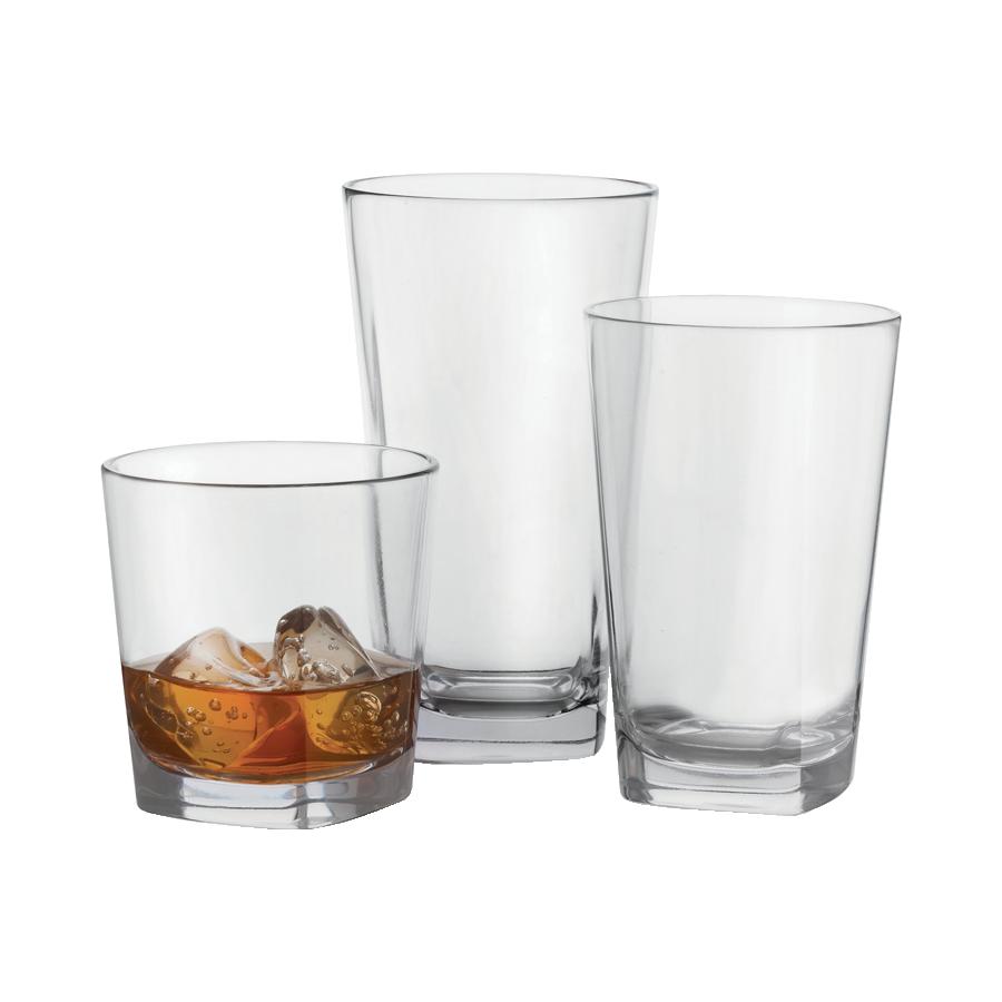 G.E.T. Enterprises SW-1472-CL glassware, plastic