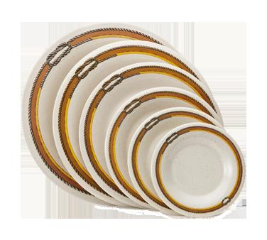 G.E.T. Enterprises WP-6-RD plate, plastic