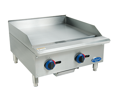 Globe C24GG griddle, gas, countertop