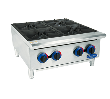 Globe C24HT hotplate, countertop, gas