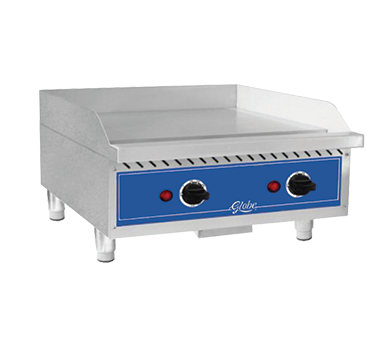 Globe GEG24 griddle, electric, countertop