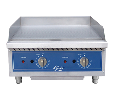 Globe GG24TG griddle, gas, countertop