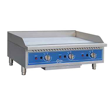 Globe GG36TG griddle, gas, countertop