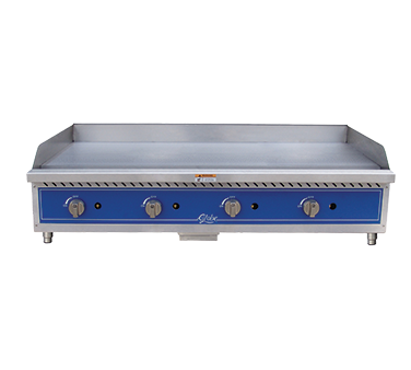 Globe GG48G griddle, gas, countertop