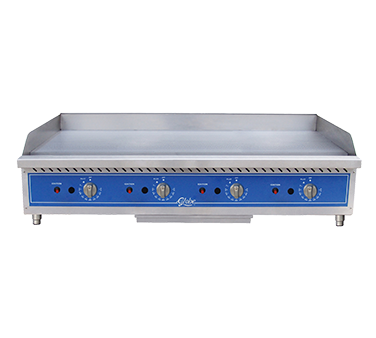 Globe GG60TG griddle, gas, countertop