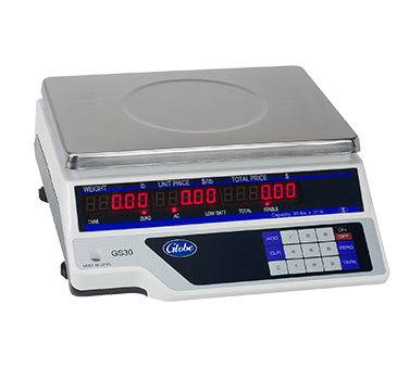 Globe GS30 scale, price computing
